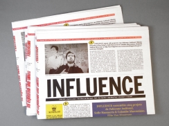 Überknackig project - Influence - Cover