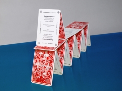 Überknackig project : Mobile Institute - Business card