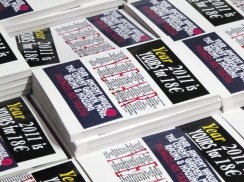 Überknackig project : Year magazine 2011 - Cover